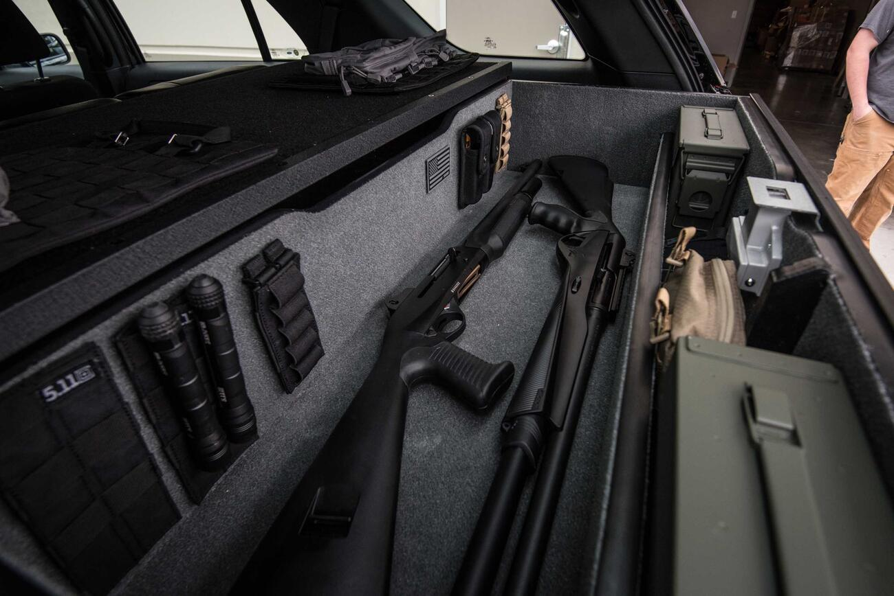 Special Ops Truck >> Law Enforcement Vehicle Gun Storage | TruckVault