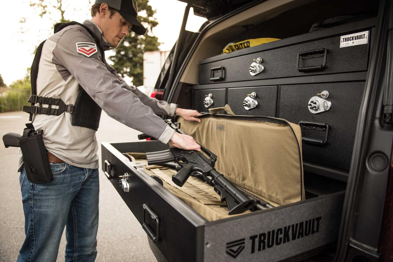 Military Vehicle Gun Storage | TruckVault