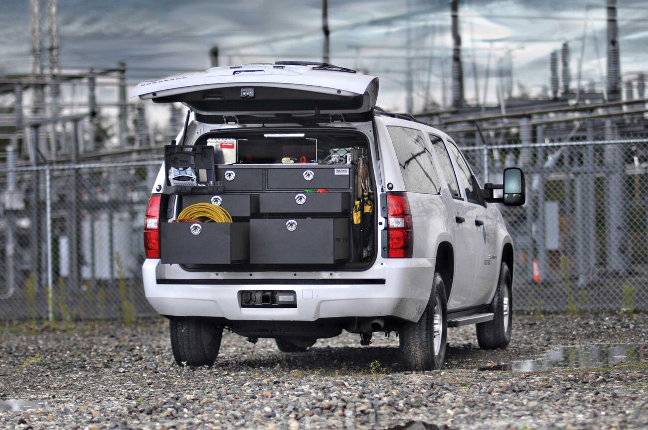 Suv Secure Storage Truckvault