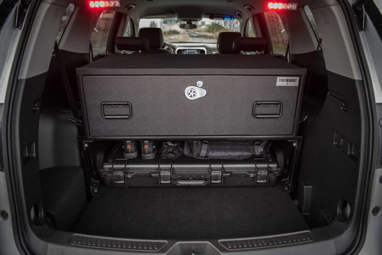 Cargo Box For Suv >> SUV Secure Storage | TruckVault