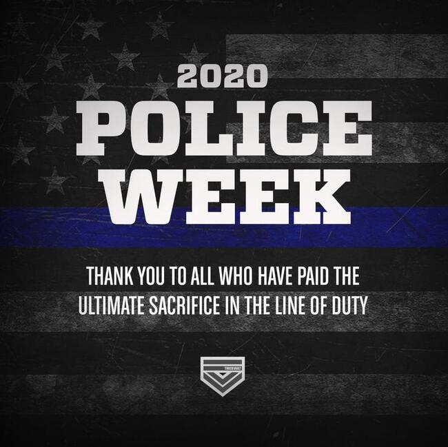 TruckVault Police Week graphic.