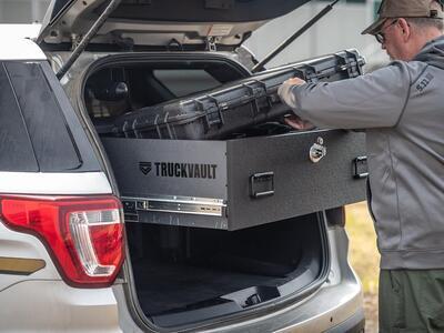 Law Enforcement Vehicle Gun Storage | TruckVault