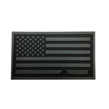 "TruckVault Velcro backed Patch 2"" x 3.5"""